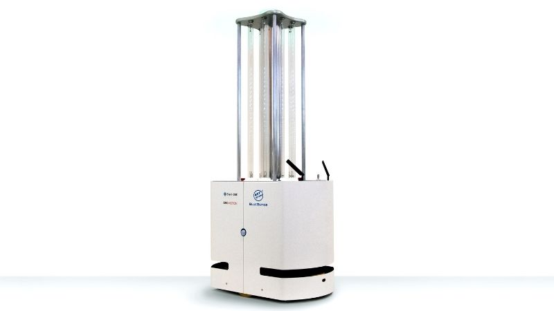 mini UVC disinfection robot