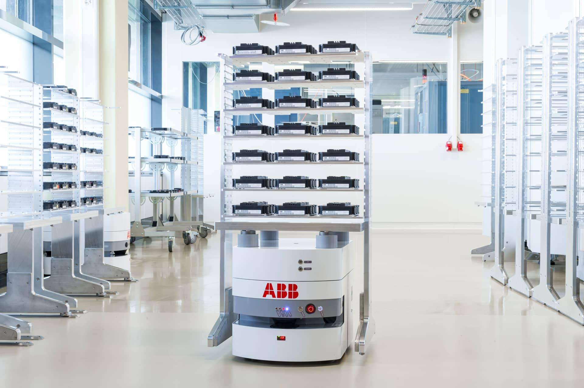 Nous avons aidé l'équipe d'ABB à automatiser la production
