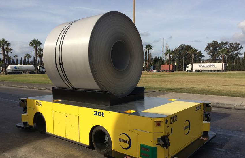 30-ton electric mover AGV