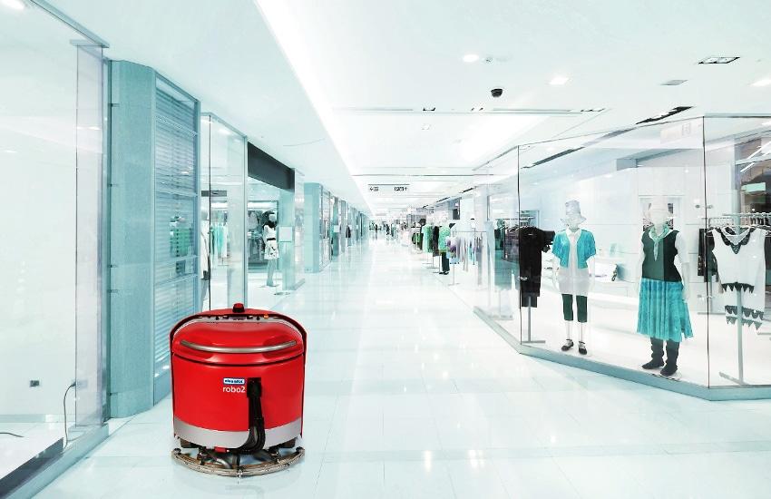 Cleanfix RA660 Navi robotic floor cleaner