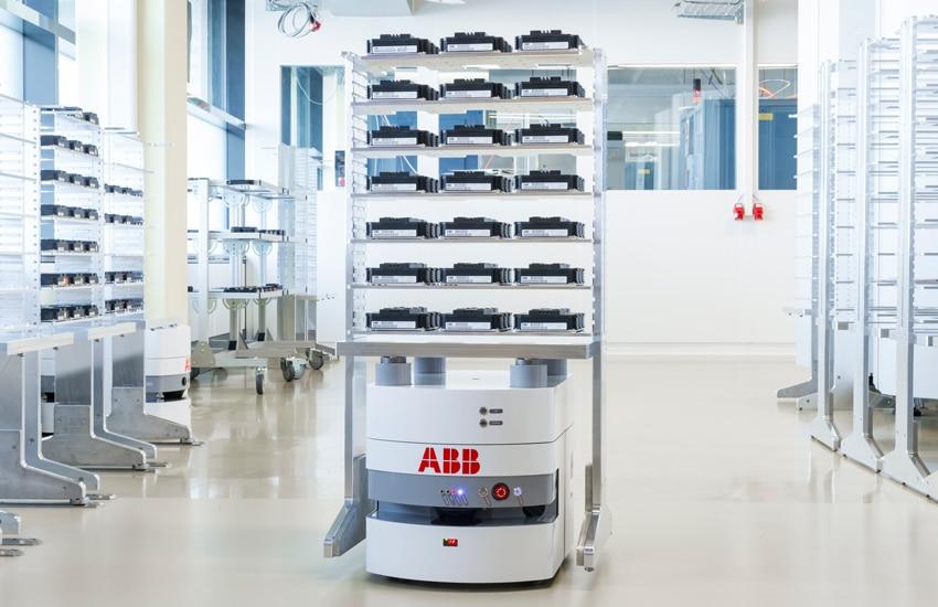 ABB - La base de robot mobile BlueBotics mini™