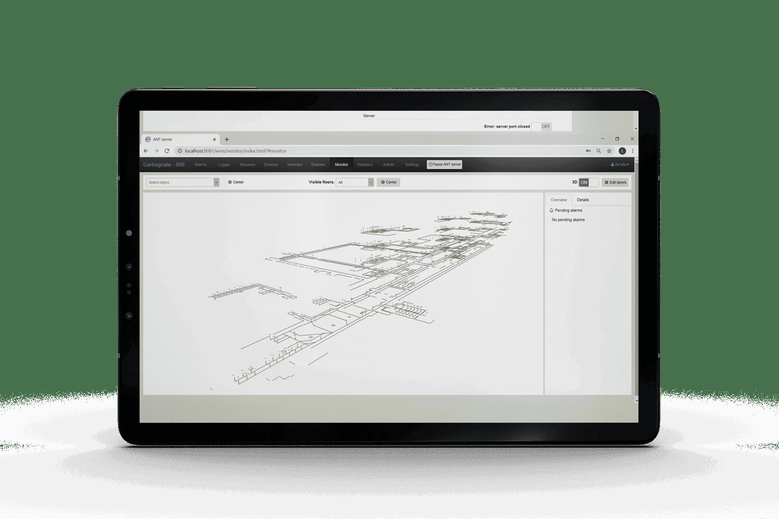Planificateur intelligent de ANT® server