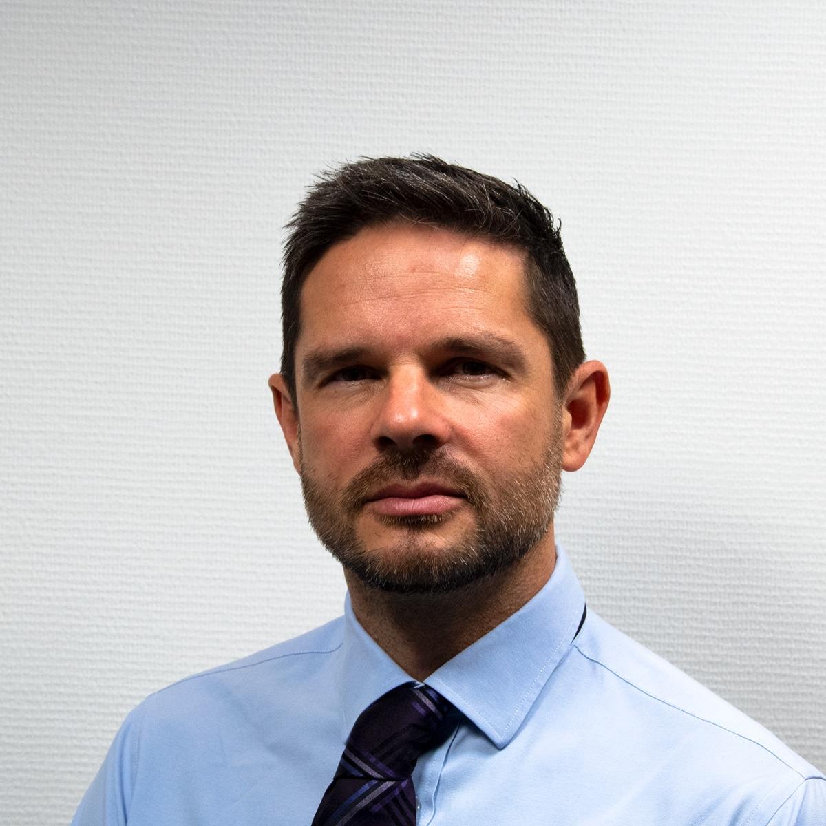 Head of Marketing Matt Wade BlueBotics