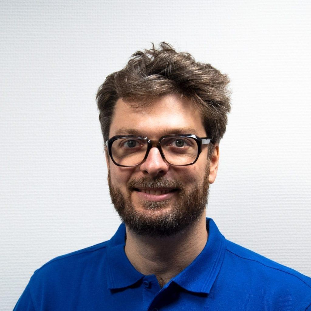 Head of Systems Mathias Perollaz BlueBotics