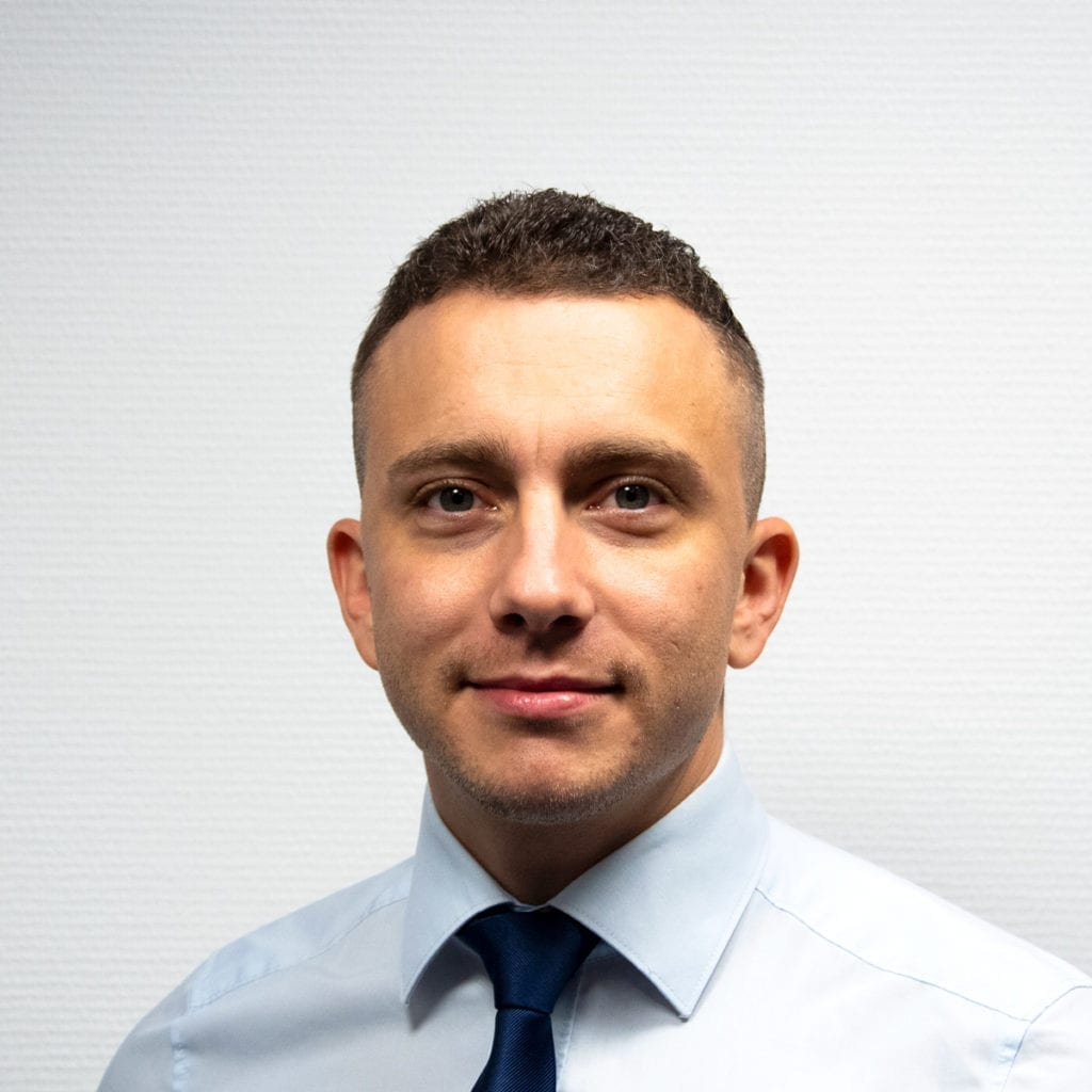 Area Sales Manager David Beguin BlueBotics