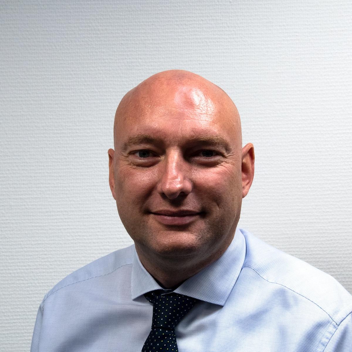 Area Sales Manager Sander Burghardt BlueBotics