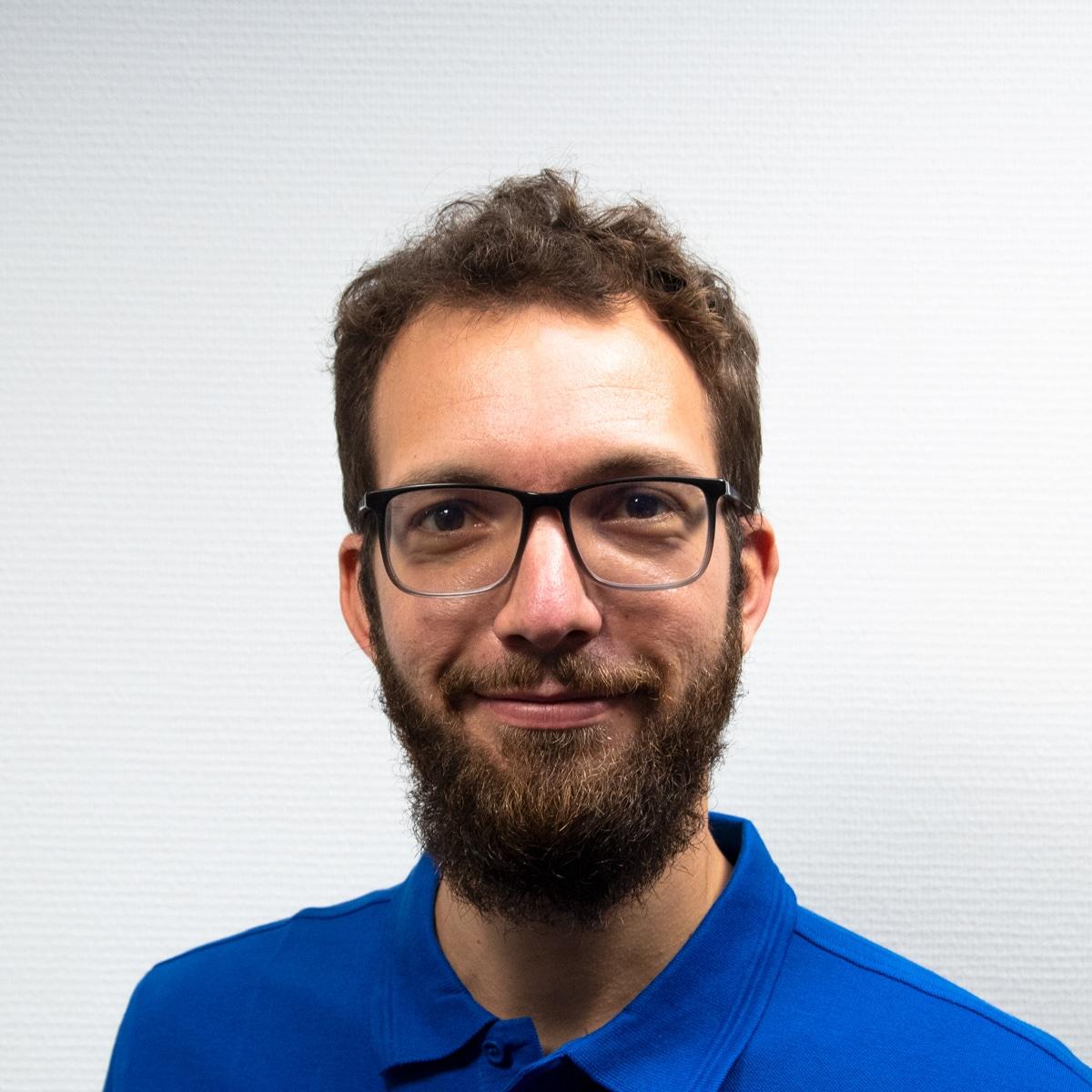 Systems Engineer Baptiste Mottet BlueBotics