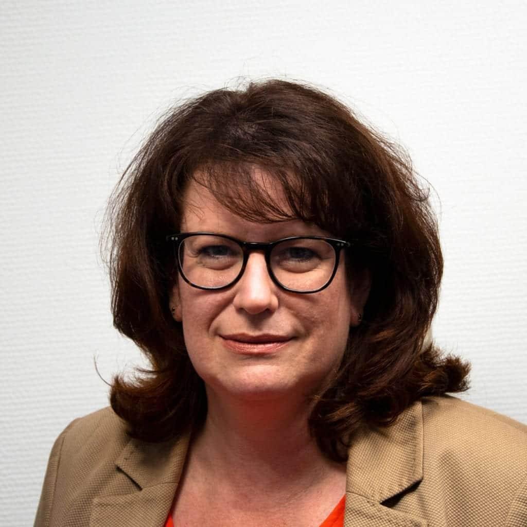 VP Finance Marylin Mermod BlueBotics