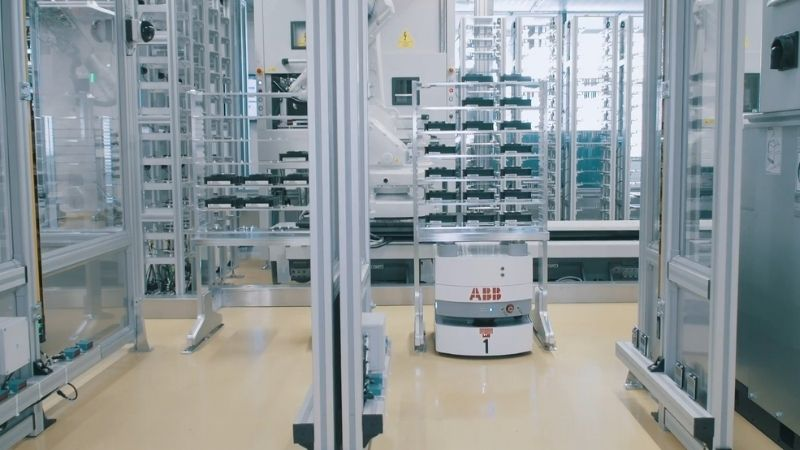 Automation project by ABB