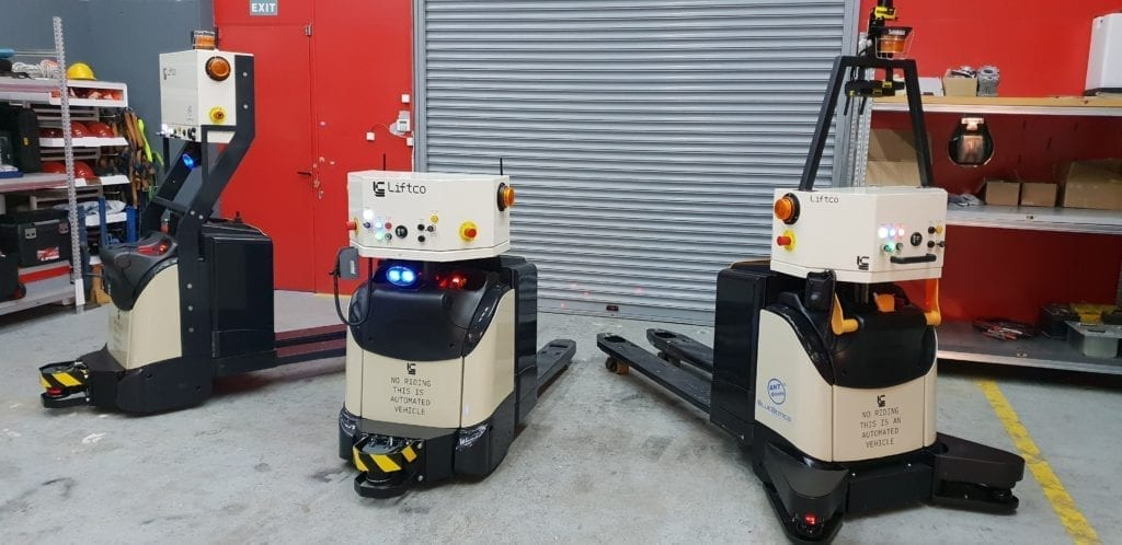 Business reasons to create automated forklifts
