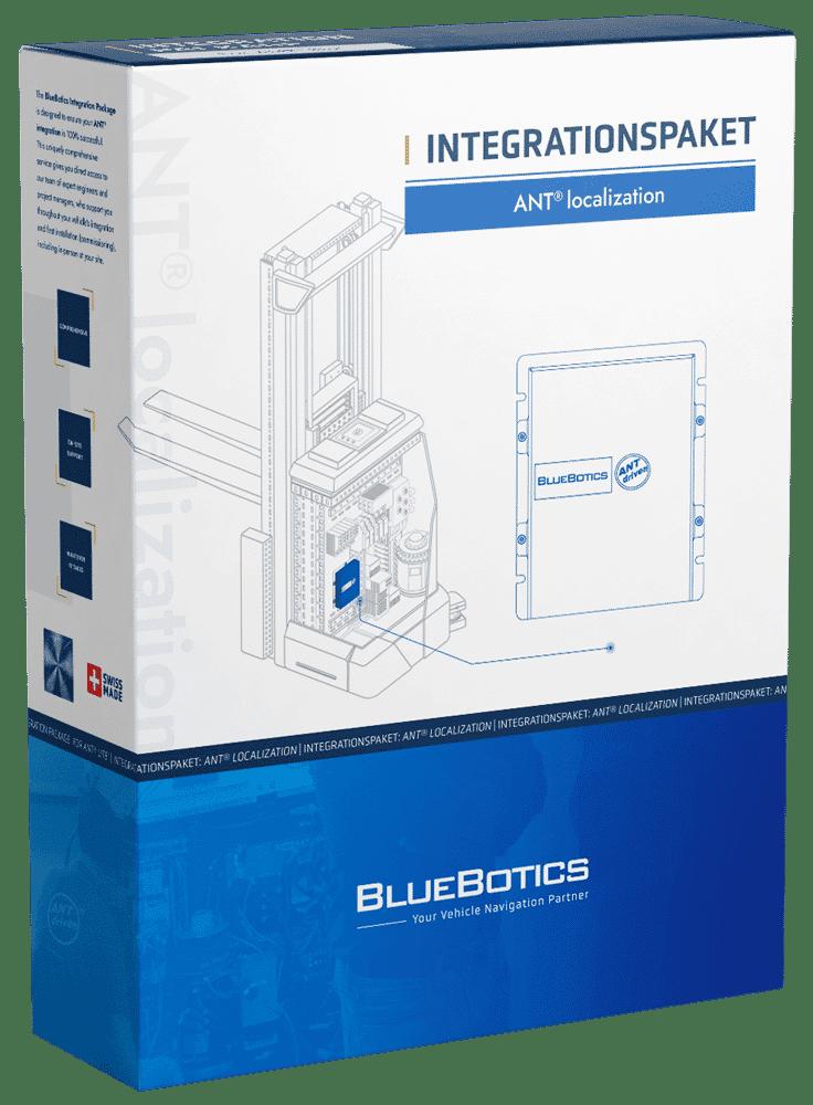 BlueBotics ANT localization Integrationspaket