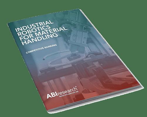 BlueBotics Ranked Top 3 Market Leader in Industrial Robotics for Material Handling