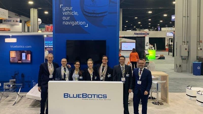 BlueBotics trade fairs 2021